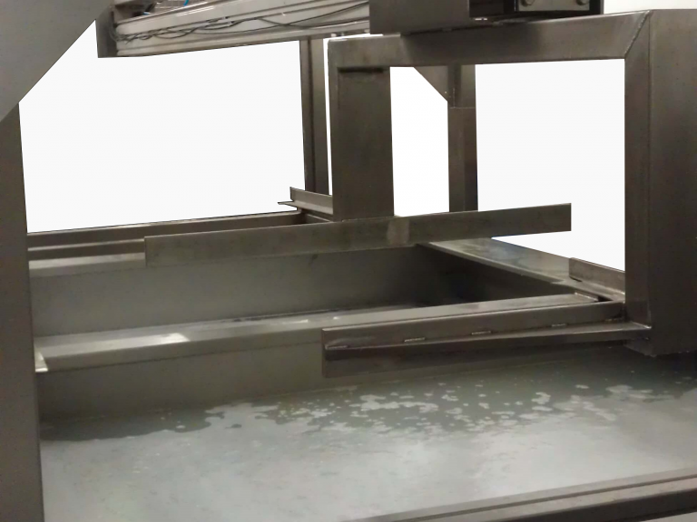 multistage integrated ultrasonic cleaning system