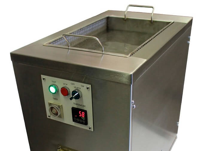 single stage bench top ultrasonic cleaners