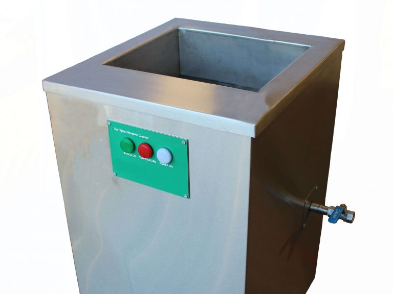 bench top single stage ultrasonic cleaner