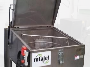 rotajet small component degreasing machine