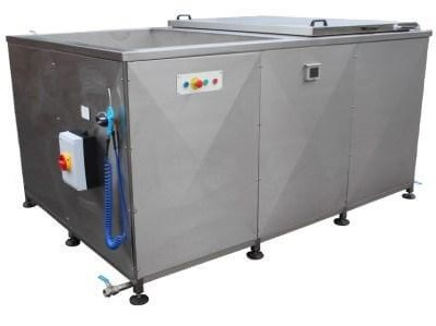 multistage ultrasonic washing and cleaning