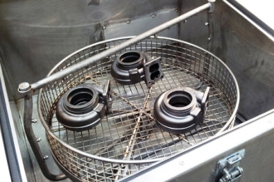 small part degreasing top loading