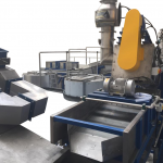 swarf degreasing machine