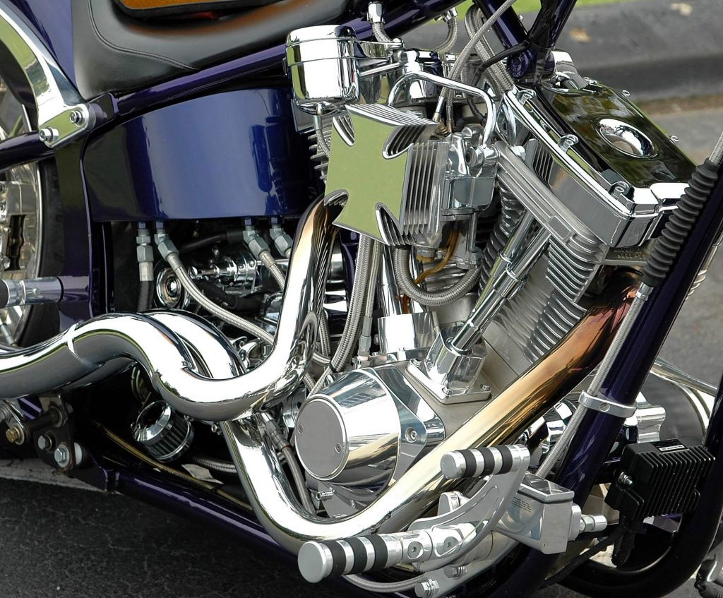 Clean bike engine
